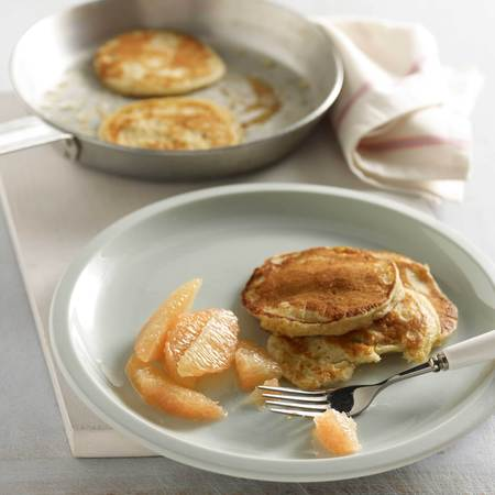 Grapefruit pancakes recipe