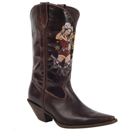 These boots make us want to shout yee bloody haw!