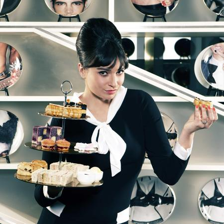 Gizzi Erskine's afternoon tea at W London - Leicester Square