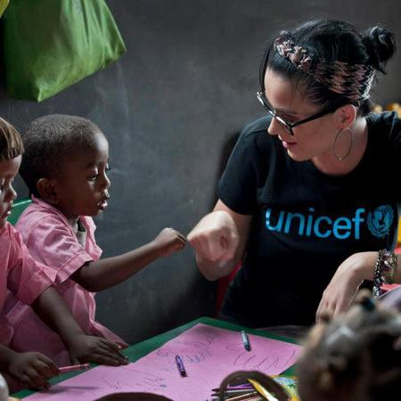 Katy Perry teams up with UNICEF and visits children in Madagascar