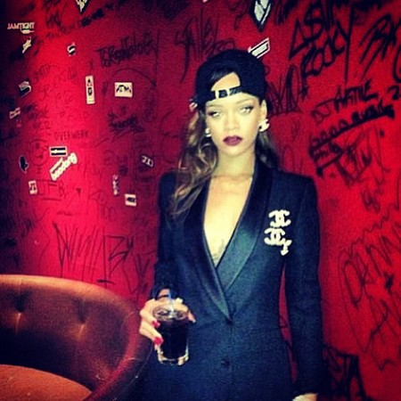 Rihanna in Chanel
