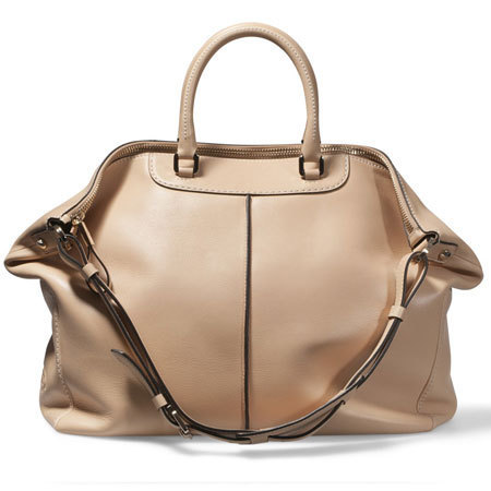 TODs miky bag in tan leather