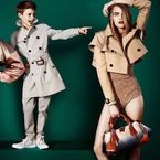 Romeo Beckham stars in new Burberry SS13 campaign