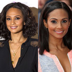 CELEBRITY HAIR: Alesha Dixon's curly v straight styles
