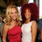 "Rihanna tells Beyonce to ""Bow Down""?"