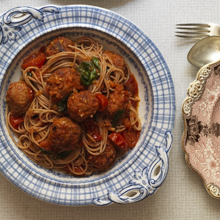 Gizzi Erksine's pork and chorizo meatballs recipe