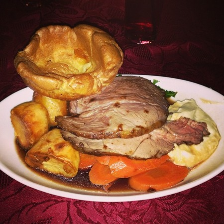 Jessie J's roast dinner