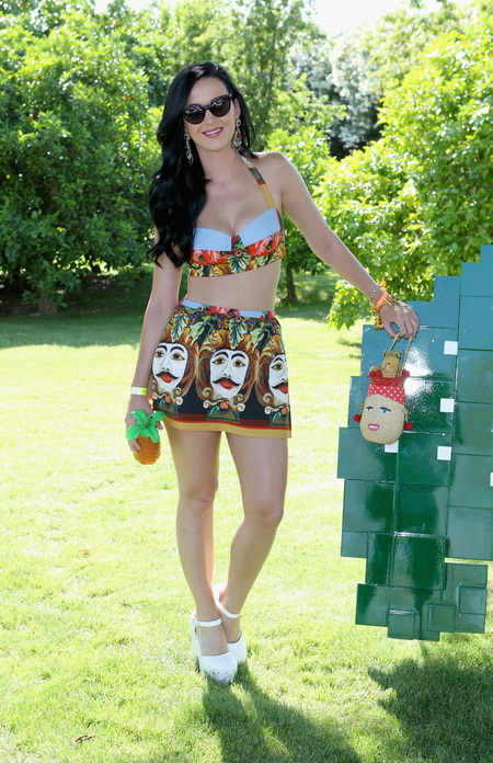 Katy Perry at Coachella festival 2013