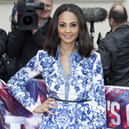 Alesha Dixon dons printed Roberto Cavalli for Britain's Got Talent