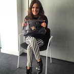 What's in my handbag: Caroline Flack's Mulberry