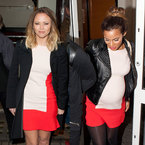 FASHION FIGHT! Rochelle Humes v Kimberley Walsh in Zara dress
