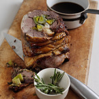 Spring Recipe: Roast Stuffed Leg of Lamb