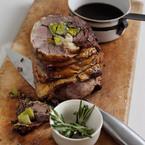 Spring Recipe: Roast Stuffed Leg of Lamb