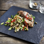Thomasina Miers veal chops & spelt salad recipe