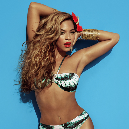 Beyoncé for H&M high summer campaign