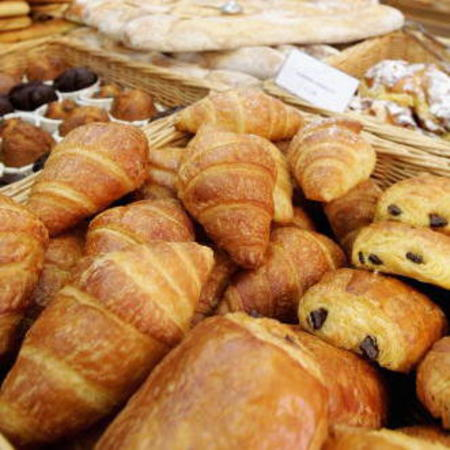 BAD: Croissants, pastries, danishes