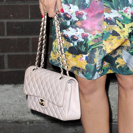 Kelly Brook's Quilted leather Chanel Flap Bag
