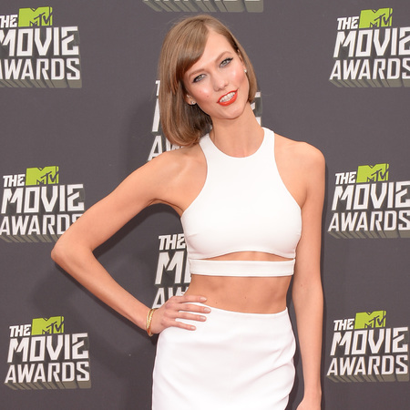 Karlie Kloss at MTV Movie Awards 2013