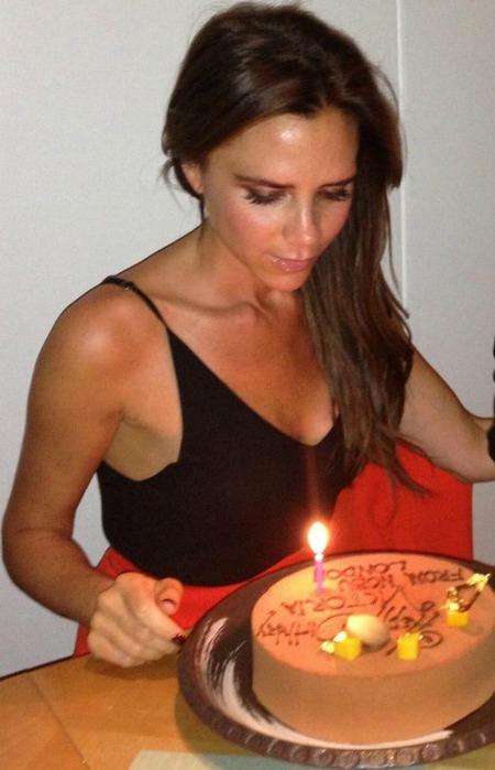 Victoria Beckham, Birthday