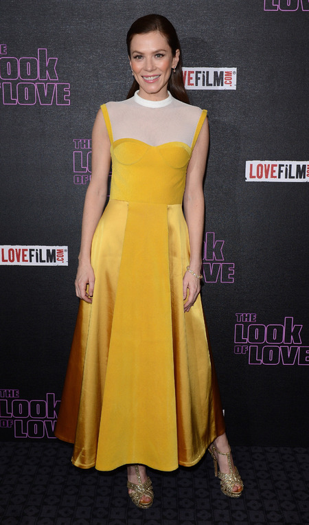 Anna Friel at The Look of Love UK premiere in London