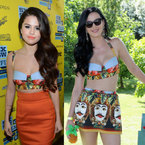 FASHION FIGHT! Katy Perry V Selena Gomez in Dolce & Gabbana