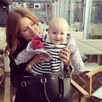 Millie Mackintosh finds baby in Aspinal bag