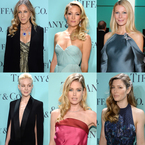 RED CARPET: Dresses at Tiffany's Blue Book Ball