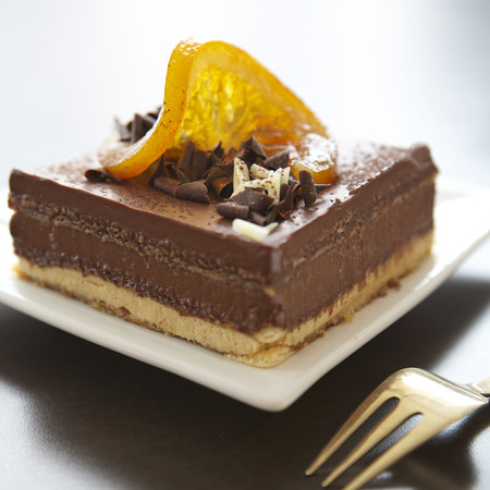 National Coffee Week Recipe: Gateaux Opera à l'orange