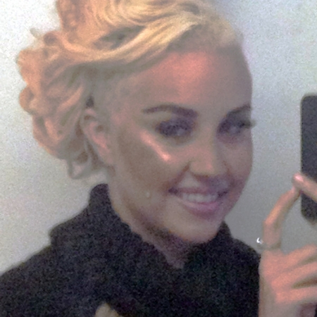 Amanda Bynes debuts shaved hair