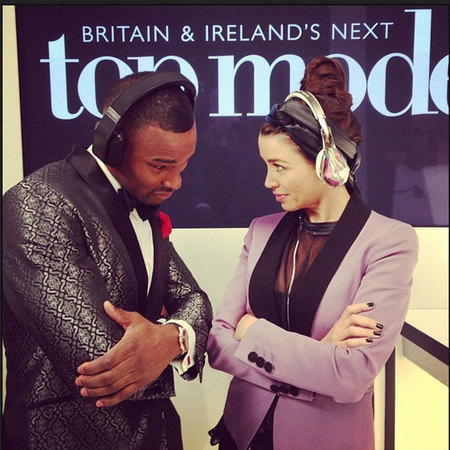 Dannii Minogue and Tyson Beckford