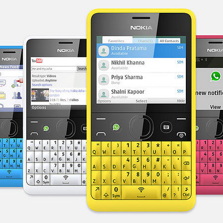 Nokia Asha 210 with WhatApp