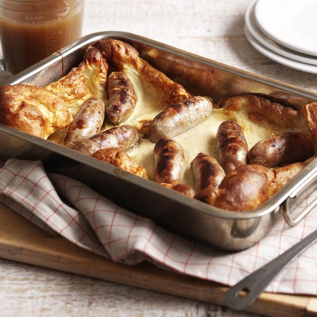 Toad in the hole, St George's Day recipe