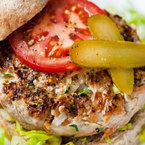 Healthy BBQ beef burgers recipe