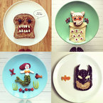 Toast art with Instagram food artist Ida Frosk