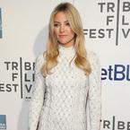 Kate Hudson dons white Jenny Packham knit