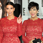 FASHION FIGHT: Kim Kardashian V Kris Jenner in Valentino