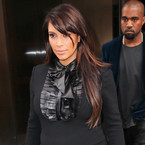 Pregnant Kim Kardashian takes New York in another LBD