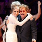 Lady Gaga is Elton John sons' godmother