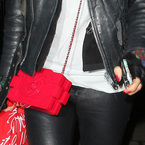 CELEBRITY BAGS: Rita Ora's red Chanel Lego