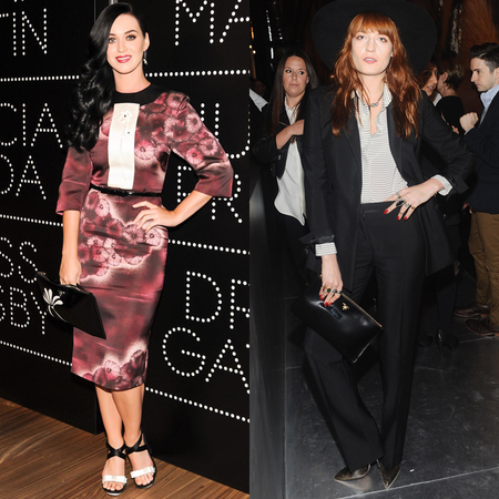 Katy Perry and Florence Welch Prada clutch bag