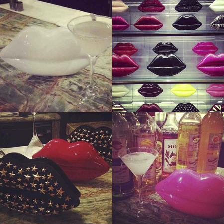 Lulu Guinness Lips Clutch bags