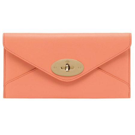 Mulberry Envelope Clutch Bag in Sorbet Shades