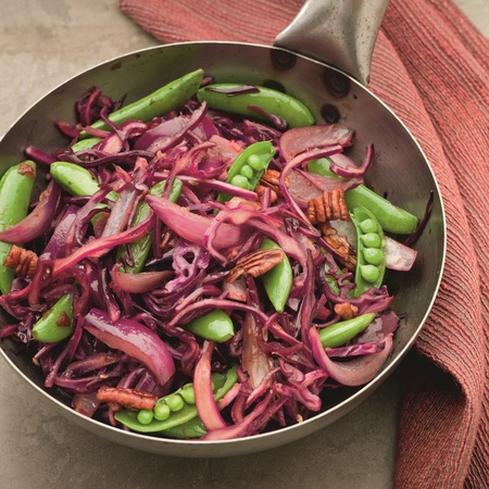 Red cabbage stir fry, Morrisons