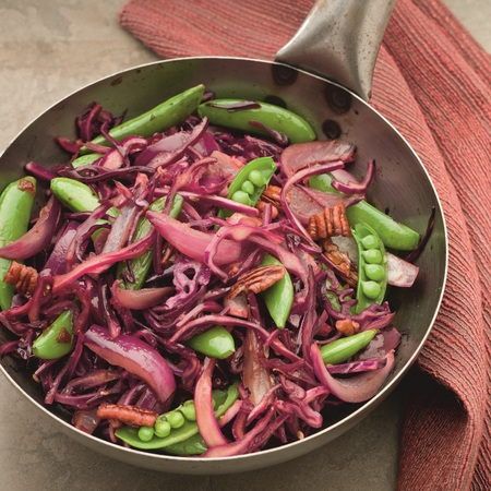 Red cabbage stir fry, Morrisons
