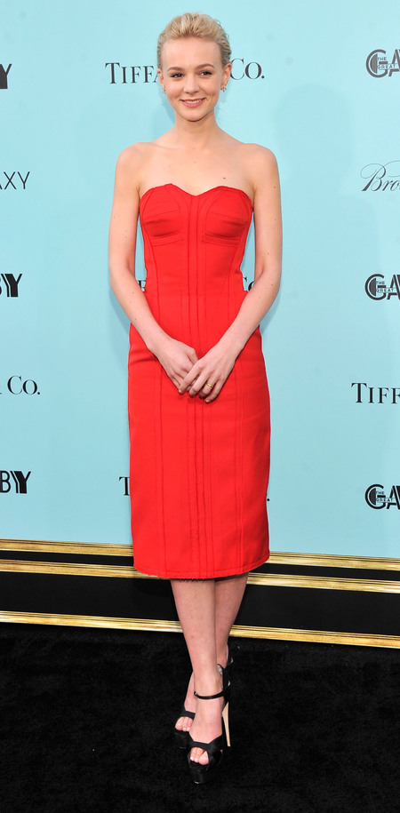 Carey Mulligan wears Lanvin at The Great Gatsby world premiere
