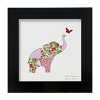Cute silhouette prints from Bertie & Jack