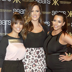 Kim, Khloe and Kourtney Kardashian take Texas Kollection bash