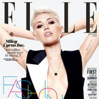 FIRST LOOK! Miley Cyrus makes ELLE UK cover debut