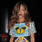 Rihanna rocks Mary Katrantzou and Tom Ford in New York
