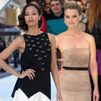 Star Trek style wars! Zoe Saldana v Alice Eve